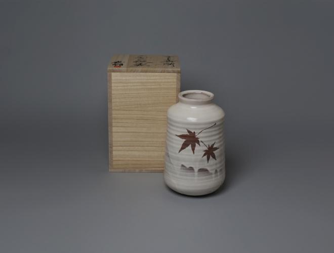 もみじ紋 花器06